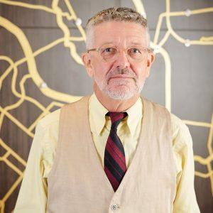 Senior businessman or teacher